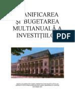 Manual Planificare Si Bugetare Investitii MJ 2005