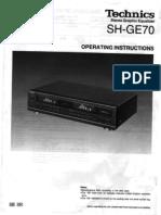 Technics SH GE70
