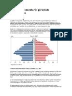 3º E.S.O- Comentario pirámide de población
