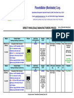 Ex Works PlanetsWater 'Full' AWG Direct Wholesale Factory Price List 2013
