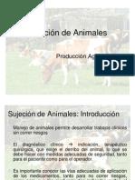 Unidad Nº 1 Sujeción de Animales