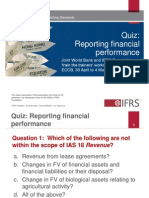 7. Quiz Reporting Financial Performance