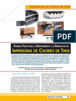 Impresoras Chorro Tinta