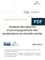 Analyse Des Besoins D_accompagnement Des Producteurs en Circuits Courts