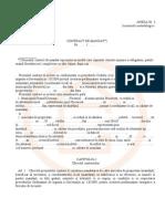 Contract de Mandat 1