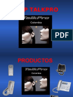 Presentación Talkpro Voip