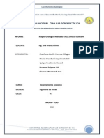 Informe de Lev. Geologico-II