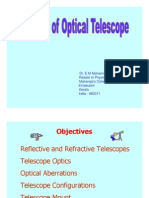 Basics of Optical Telescope