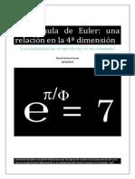 Euler Una Relacion en La 4a Dimension