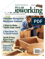 Popular Woodworking April 2009
