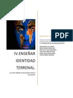 ENSEÑAR IDENTIDAD TERRENAL