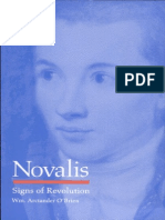 Novalis Signs of Revolution by William Arctander O'Brien