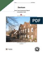 Denham Draft Report
