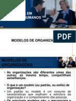 MODELOS DE ORGANIZAÇÕES