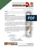 Invitacion Convocatoria Programa Encuentro Juventudes Arequipa2013