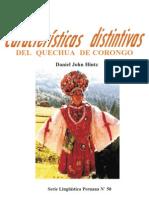 Quechua de Corongo, Áncash