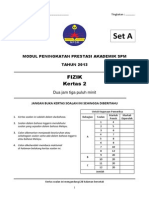 Trial Kedah SPM 2013 FIZIK K2 SET A