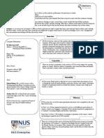 YES Summarysheet