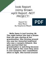 Book Report New Moon