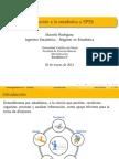 1 - Introducción a estadística y  SPSS (Administración)