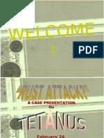 Case Pres Tetanus Final