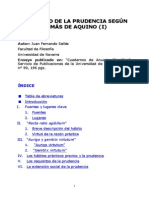 La Virtud de la Prudencia - Santo Tomés de Aquino.pdf