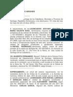 CONSTITUCIÓN DE ABOGADO