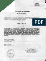 5. CERTIFICADO IDO420