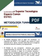 Espacio Comun de La Ed. SuperiorTEMA3
