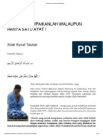 Solat Sunat Taubat _ Shafiqolbu