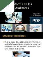 Informe de Los Auditores