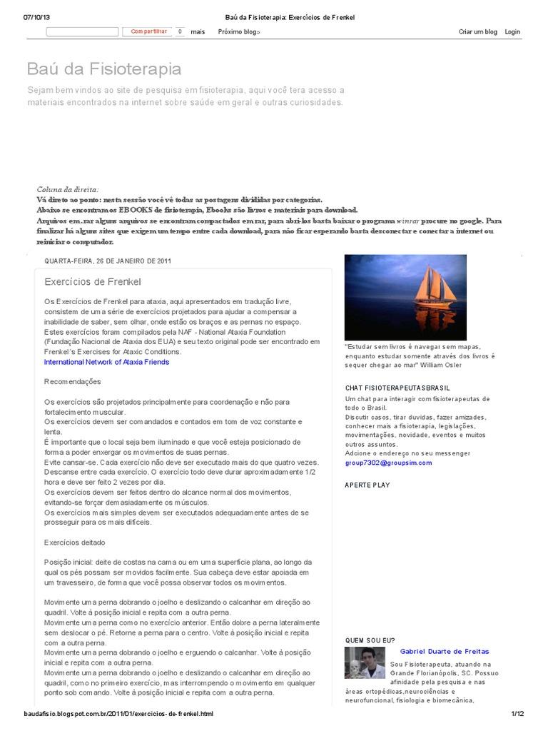 DE PARA ORTOPEDICA BAIXAR LIVRO FISIOTERAPIA