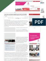 Los cinco currículos creativos que más han triunfado - El Periódico (17.05.2013)