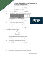 Pksr2 p1 Year 4 Maths 2011