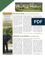 Planting Malawi 2009-07
