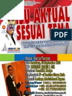 Isu Aktual Sesuai Tema - Diklatpim Tk. III (Haris Faozan 2013)