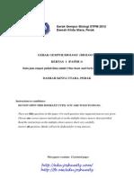 Gerak Gempur Perak STPM 2012 Biology