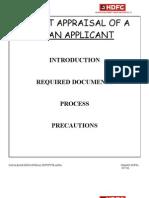 hdfc summer project report