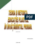 S.C.Metodica educație plastice