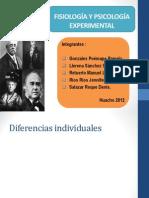 FISIOLOGÍA Y PSICOLOGÍA EXPERIMENTAL