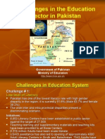 Challenges in Pakistan s Education System