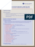 Rectal Cancer Checklist Small