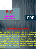 PLC - Variable Analogica