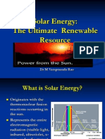 Solar Energy for Giet Mech Students