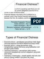 Financial Distress
