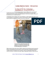 Safe Practices of Site Mixed Explosives System