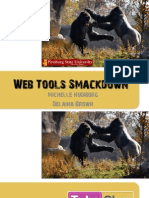 Web Tools Smackdown