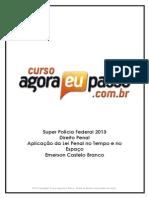 PDF AEP SPF2013 DireitoPenal AplicacaodaLeiPenal EmersonCasteloBranco