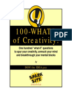 What if...Creativity Book