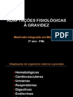 Aula 1 Adaptações fisiológicas da gravidez (handouts)